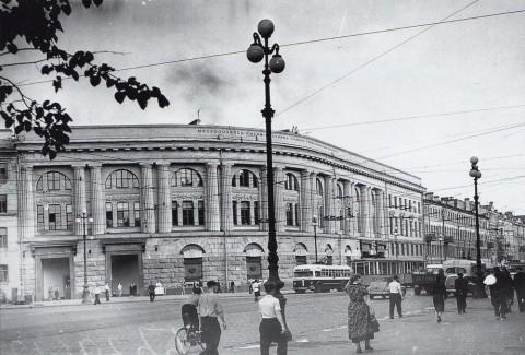 Науменков Н., Станция метро «Технологический институт». 1956.06.22.