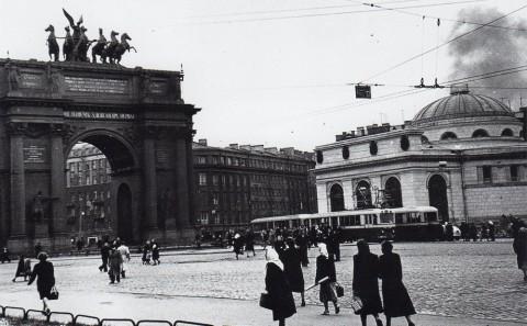 Бродский А., Площадь Стачек. 1950-1960-е годы.