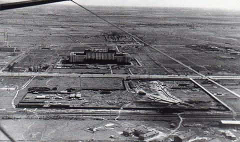 Янов Н., Строительство здания Дома Советов на Московском шоссе. 1939.