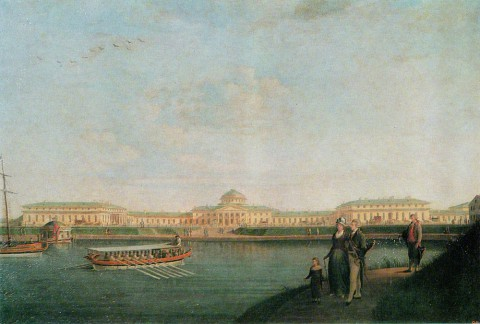 Патерсен Б., Таврический дворец. 1797 г..