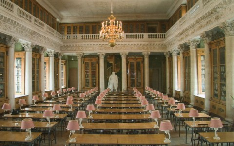 библиотека Военно-морского инженерного института.