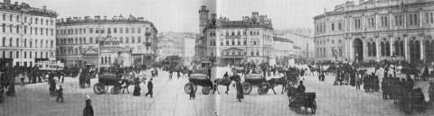 Знаменская площадь в начале 1900-х годов.