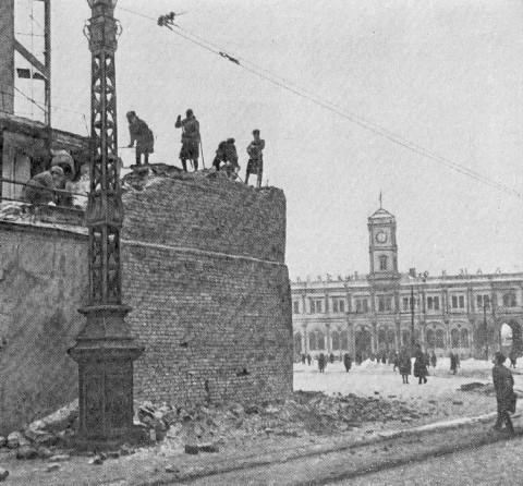 Площадь Восстания, 1944 г.. 1944.