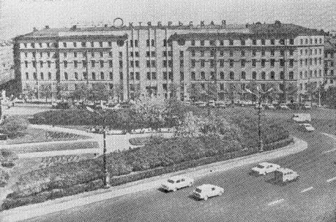 Гостиница «Октябрьская». 1968.