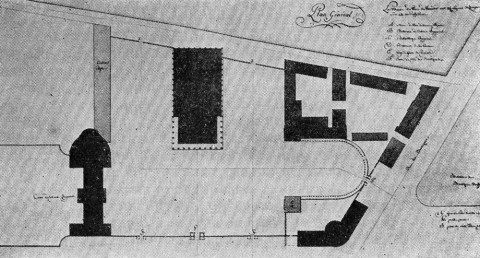 Генеральный план театра. 1811.