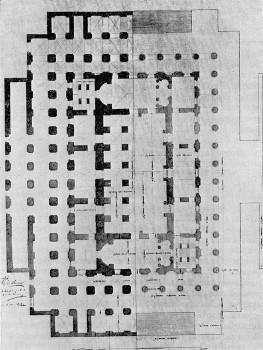 Проект Биржи. Поэтажные планы. 1804.