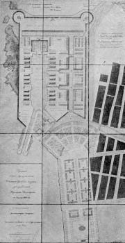 Проект перепланировки главного Гребного порта. Утверждённый вариант.