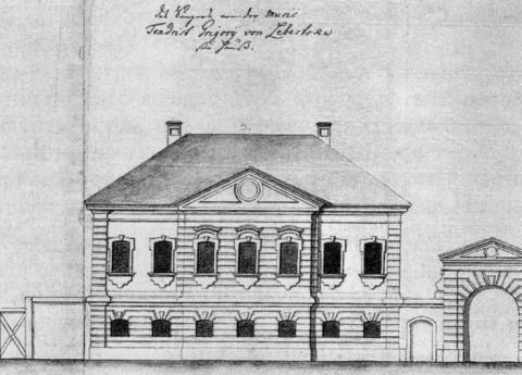 Дом Г. М. Лебестока. 1740-е гг..
