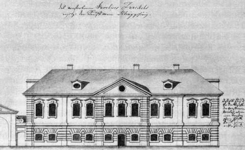 Дом Генриха Клинка. 1740-е гг..