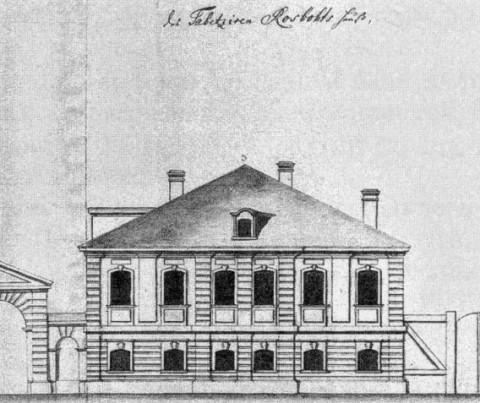 Дом Роспота. 1740-е гг..