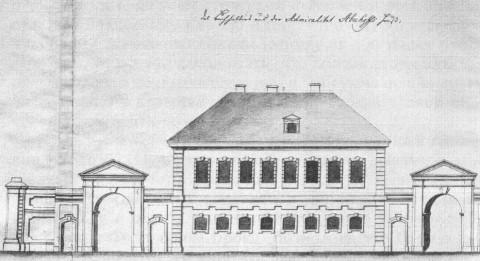 Дом И. М. Обухова. 1740-е гг..