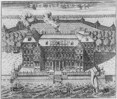 Ростовцев А., Дом светлейшего князя Меншикова. 1716-1717 гг..