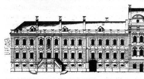Здание Главной аптеки.
