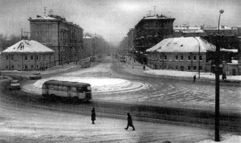 Площадь Александра Невского в 1960-х гг.. 1960-е.