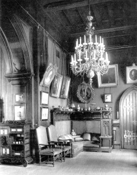 Кабинет императора Николая II. август 1917.