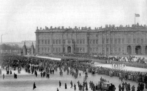 Празднование 300-летия дома Романовых. 21.02.1913.