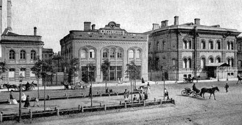 Дом Ф. К. Сан-Галли и принадлежавший ему литейно-механический завод. 1900-е.