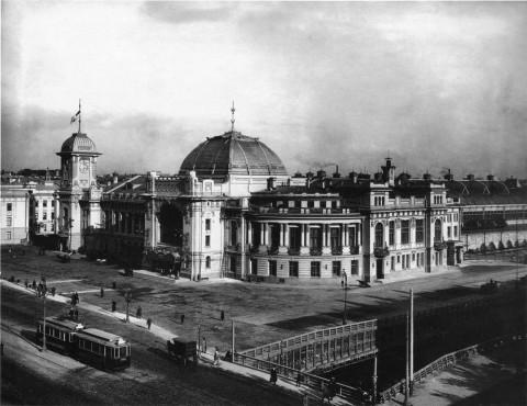 Булла К. К., Царскосельский (Витебский) вокзал. 1900-е гг..