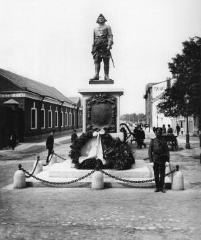 Булла К. К., Памятник Петру I на Большом Сампсониевком проспекте. 1909 г..