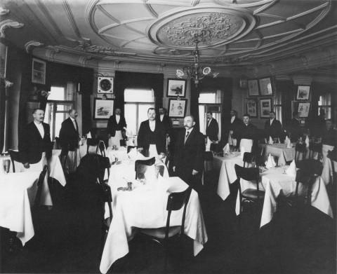 Булла К. К., Зал ресторана «Вена». 26.01.1913.