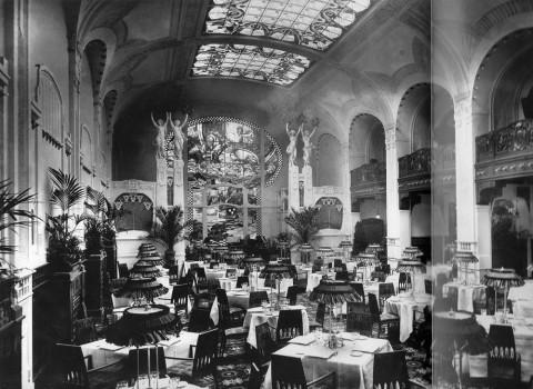 Фотоателье Буллы, Ресторан гранд-отеля «Европа». 1913.