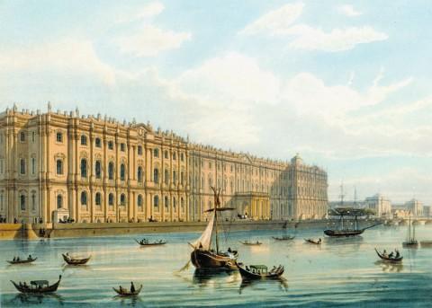 Шарлемань И. И., Зимний дворец. 1850-е гг..