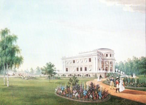 Беггров К. П., Елагин дворец. 1823 г..