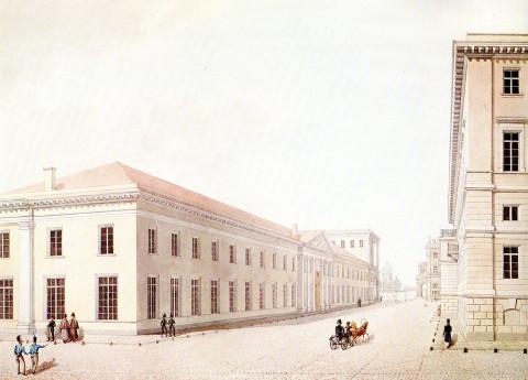 Миллионная улица, 1830-е - нач. 1840-х гг.