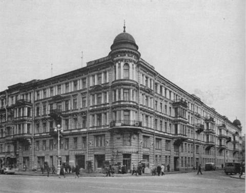 Жилой дом на Невском проспекте, 170. 1985 г..