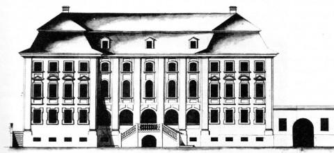 Дом св. Синода (на месте дома М. П. Гагарина).