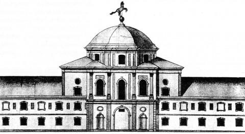 Гербель Н. Ф., Конюшенный двор. 1720.