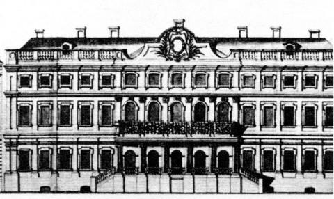 Дом П. И. Ягужинского.