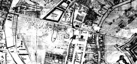 План Невской перспективы. 1738.