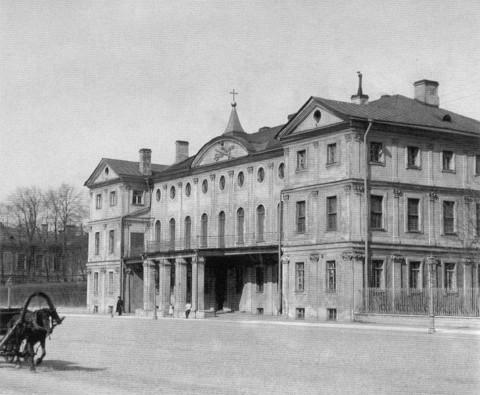 Здание Первого кадетского корпуса. 1901 г..