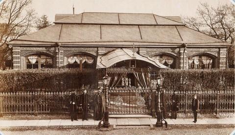 Фелиш А. Э., Домик Петра I на Петровской набережной 30 мая 1872 года. 30.05.1872.