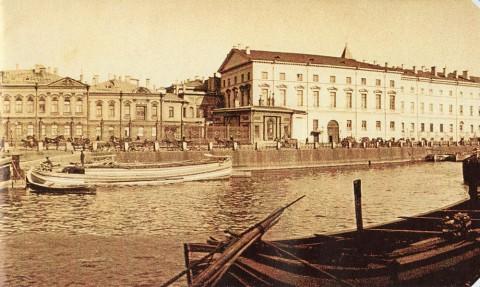 Неизвестный фотограф, Дворец Шереметевский дворец (фрагмент). 1902.