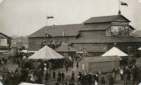Булла К. К., Народное гулянье на Обводном канале. 1890-е гг..