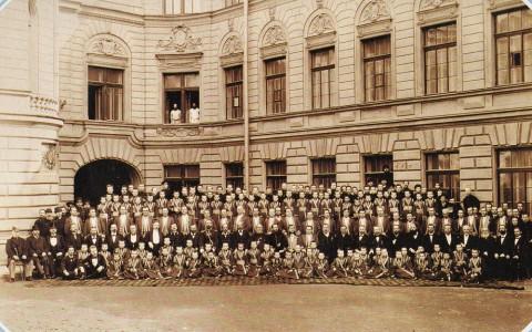 Рентц А. И. и Шрадер Ф. Е., Хор Придворной певческой капеллы. 1895.