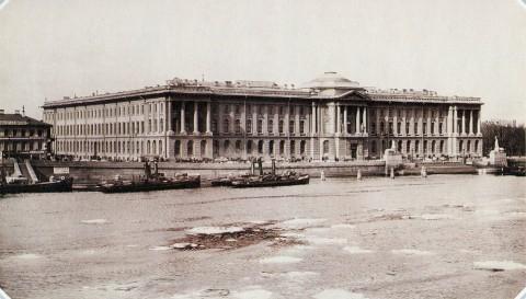 Булла К. К., Императорская академия художеств. 1890-е гг..