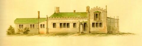 Боссе Г. Э., Проект дома садовника на даче графини А. Г. Лаваль. 1835.