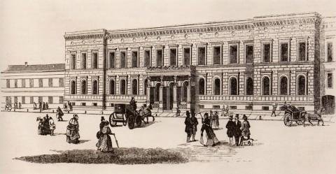 Дом И. В. Пашкова на Литейном проспекте. 1849.