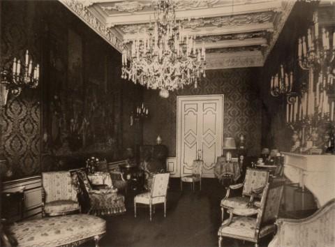 Здание французского посольства. Малая гостиная. 1914.