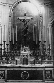 Главный алтарь храма св. Екатерины. нач. ХХ в..