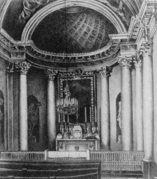 Интерьер часовни благовещения пресвятой девы Марии. 1850 (?).