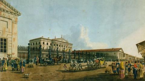 Неизвестный художник, Ассигнационный банк. 1800-е гг..