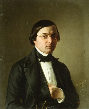 Портрет архитектора Р. И. Кузьмина.