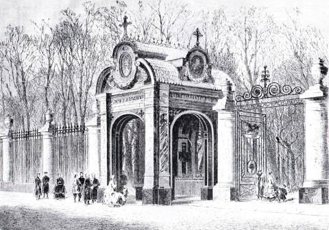 Часовня Св. Александра Невского. 1867.