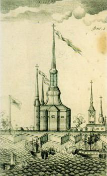 Рудаков А. Г., Первоначальная Санкт-Петербургская крепость. 1779.