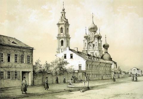 Перро Ф. В., Церковь Благовещения на 7-й линии Васильевского острова. 1840-1850-е гг..