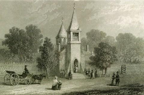 Флойд В., Церковь Иоанна Предтечи на Каменном острове. 1863.